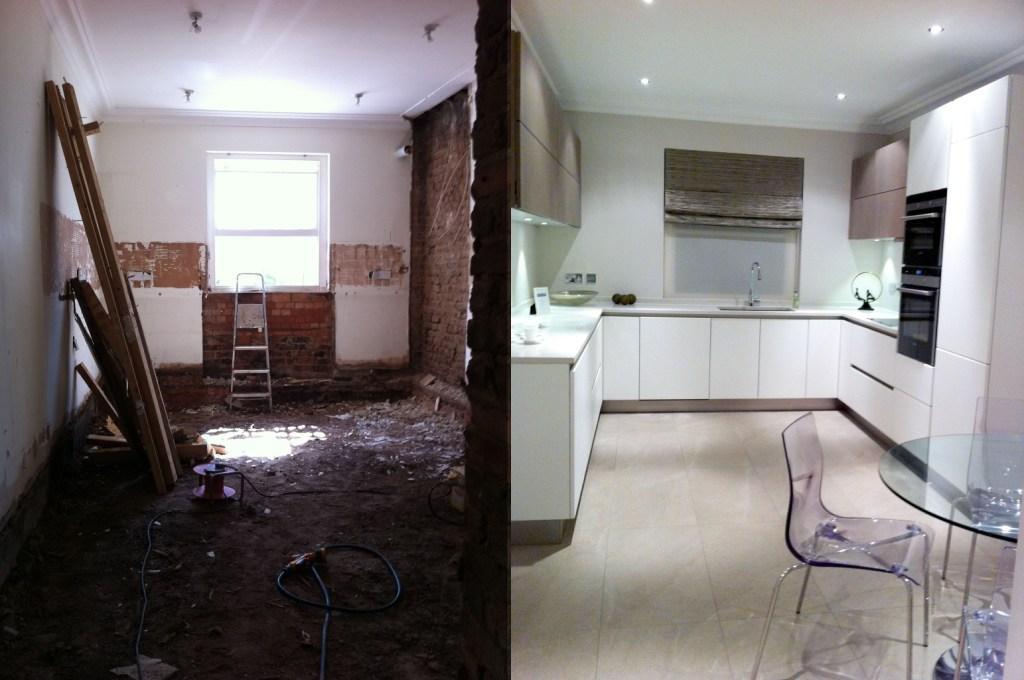 Капитальный ремонт квартир до и после фото